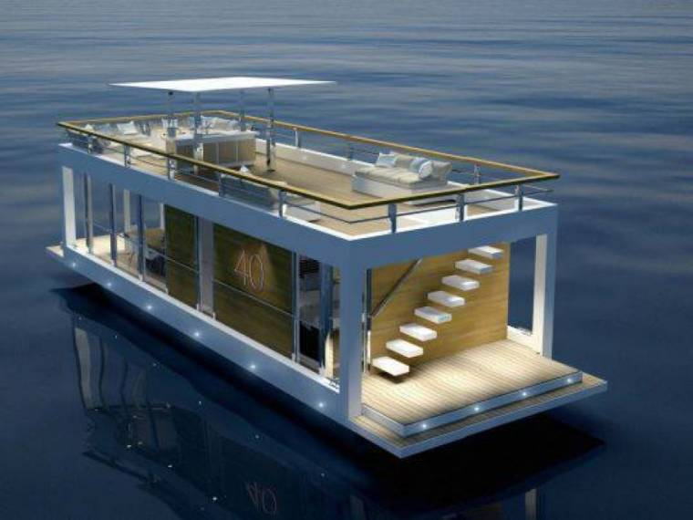 Houseboat The Yacht House 40
