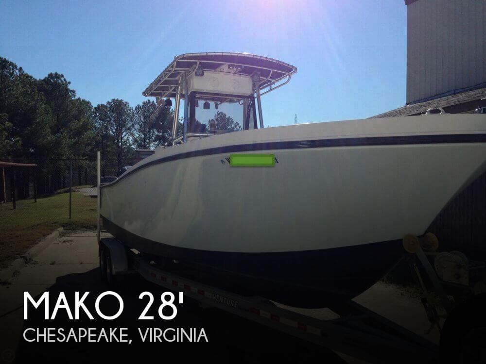 Mako 284 Center Console 1994 Mako 284 Center Console for sale in Chesapeake, VA