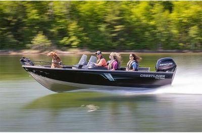 Crestliner 1700 Vision w/ 90HP Mercury 4 Stroke!