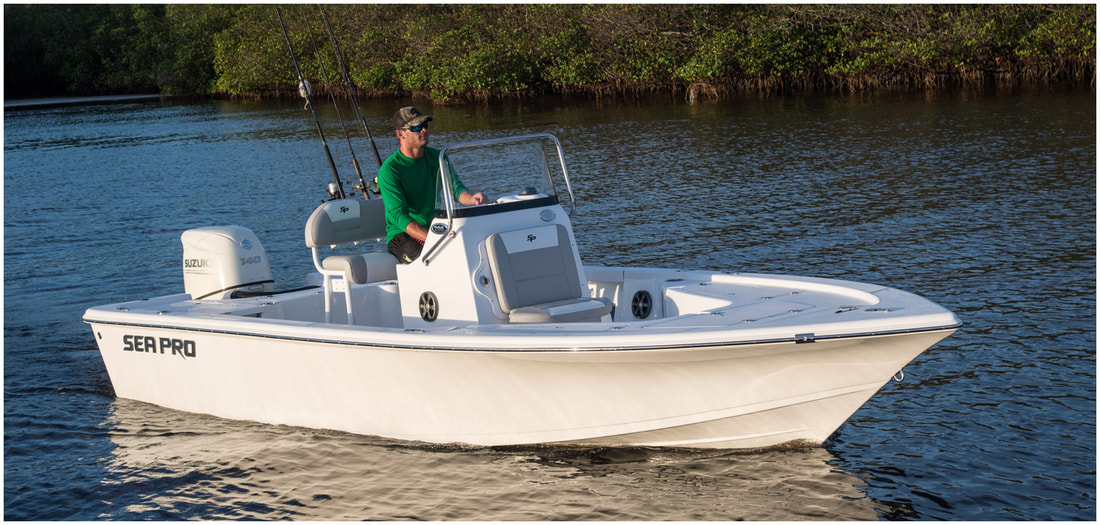 Sea Pro 228 DLX Bay Series