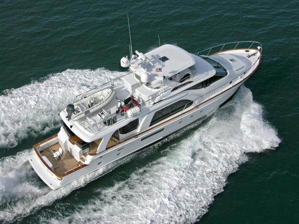 Custom Rayburn Cockpit Motor Yacht
