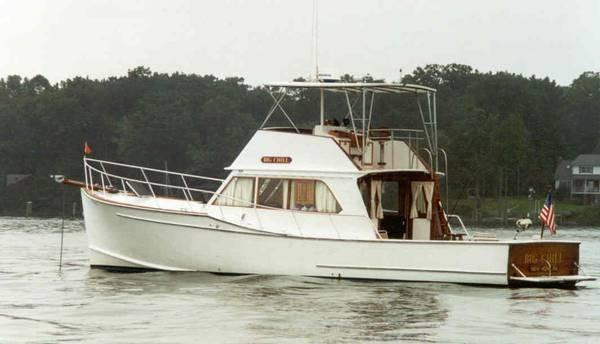 d'Eon Downeast Cruiser  - Single Engine Full Keel Motor Yacht Classic Downeast Lines