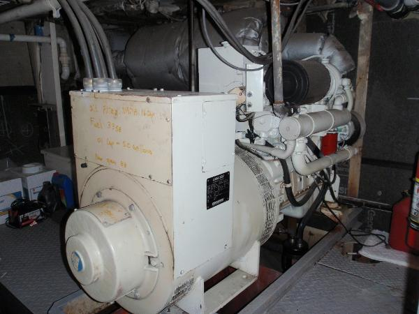 Custom Overnight Passage Maker 88 KW Lima Generator