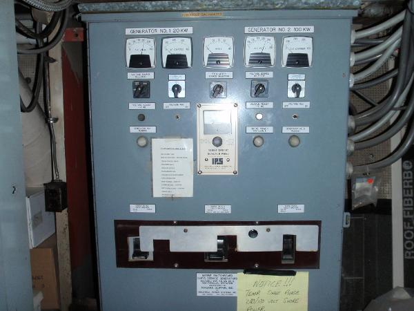 Custom Overnight Passage Maker Switchgear