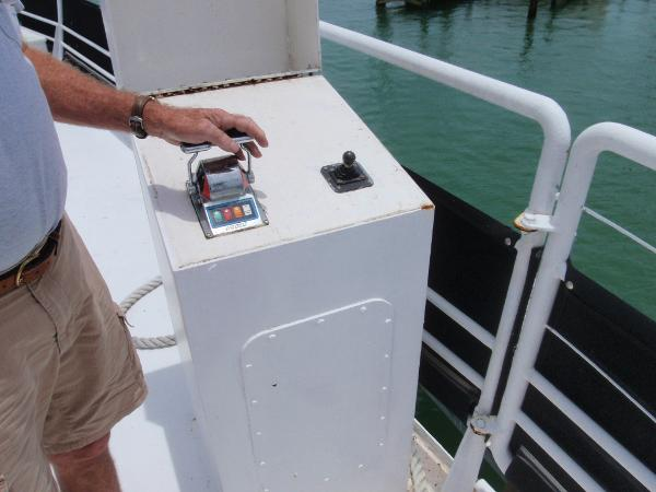 Custom Overnight Passage Maker Outside Controls For Docking