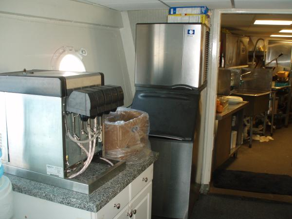Custom Overnight Passage Maker Soda & Ice Machine