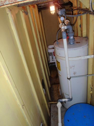 Custom Overnight Passage Maker Hot Water Heater 1