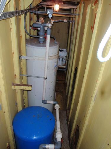 Custom Overnight Passage Maker Hot Water Heater 2