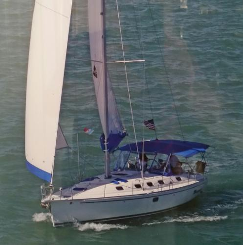 Dufour GibSea 43 Sailing
