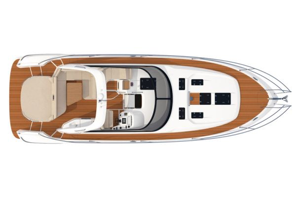 Bavaria Sport 44 Upper Deck Layout Plan