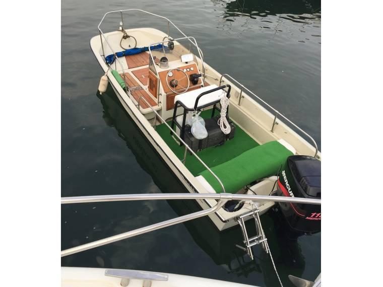 Boston Whaler >> Boston Whaler Montauk 17  Solo Scafo