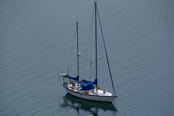 Morgan Out Island 416 Tall Rig