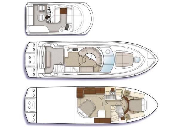 Manufacturer Provided Image: 2-cabin layout.