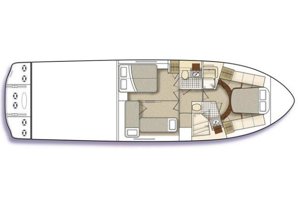 Manufacturer Provided Image: 3-cabin layout.