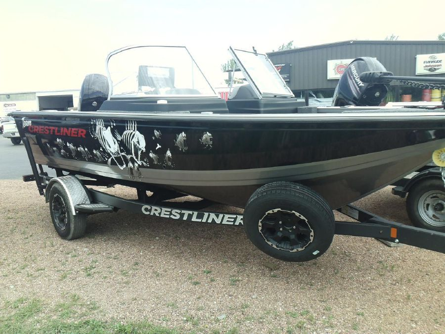 2018 Crestliner 1850 Raptor WT, West Bend United States