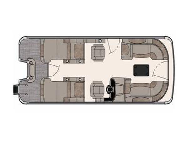 Avalon Catalina Rear Lounger 23'
