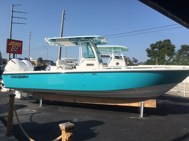 Everglades Boats 273cc