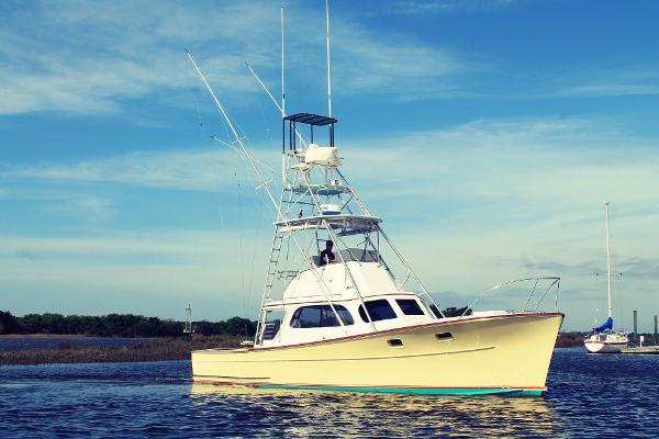 Merritt 37 Sportfish Hull #6