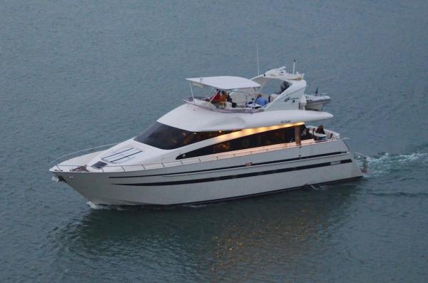 Azimut Pininfarina Flybridge Motor Yacht Profile