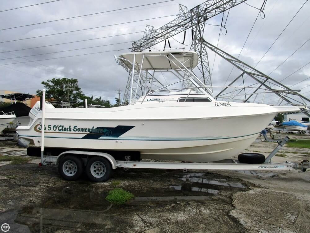 Aquasport Explorer 225 1998 Aquasport Explorer 225 for sale in Dania Beach, FL