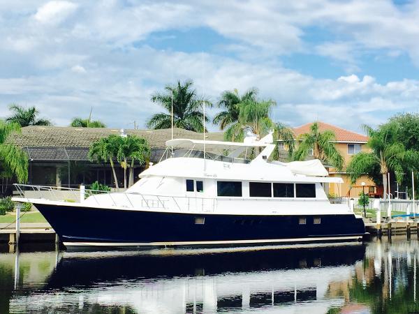 Hatteras 74 Sport Deck Motor Yacht Profile