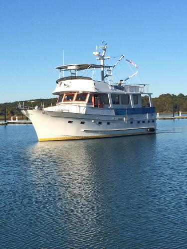 Marine Trader Motor Yacht 50 Trawler