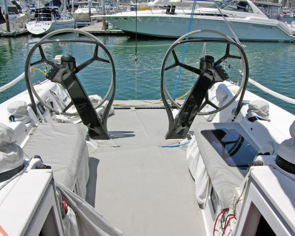 Cockpit shown with Deck Covers
