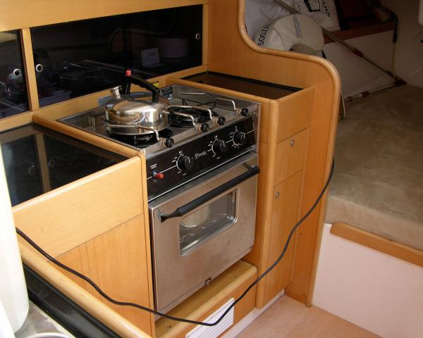 Galley (S)- Propane Stove