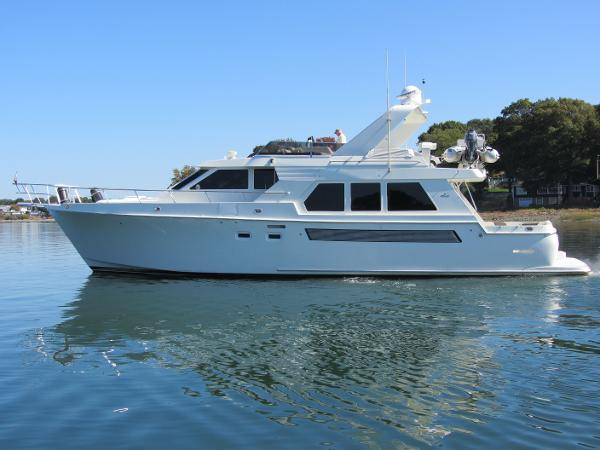 Tolly 57 Wide Body Pilothouse Profile