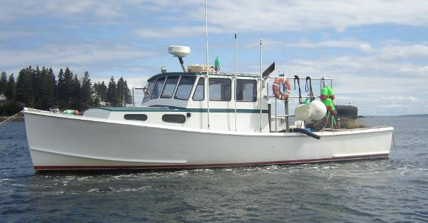 36' Wayne Beal Lobster Boat For Sale