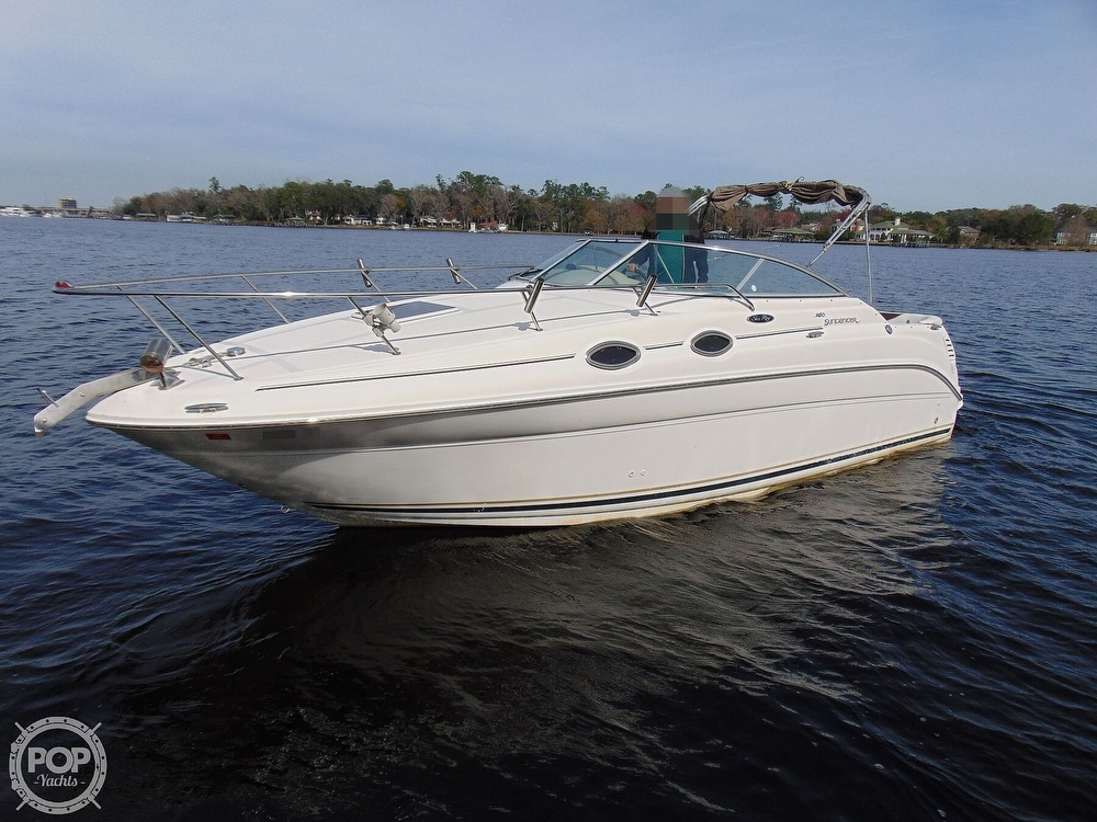 Sea Ray 260 Sundancer 2001 Sea Ray 29 for sale in Jacksonville, FL