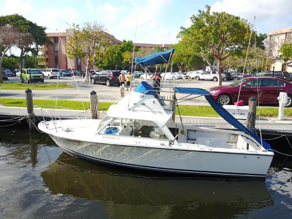 Bertram 25 Flybridge Main