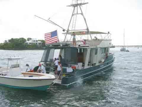 At Anchor stern