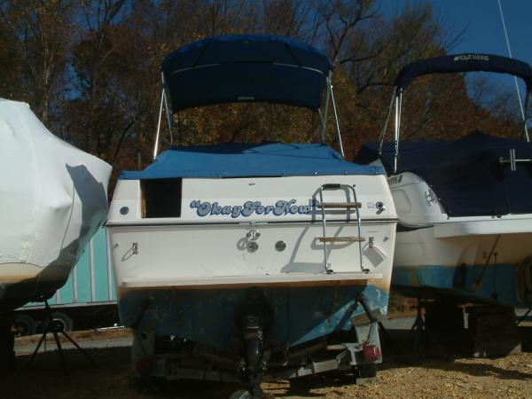 23 Sea Ray Weekender Transom