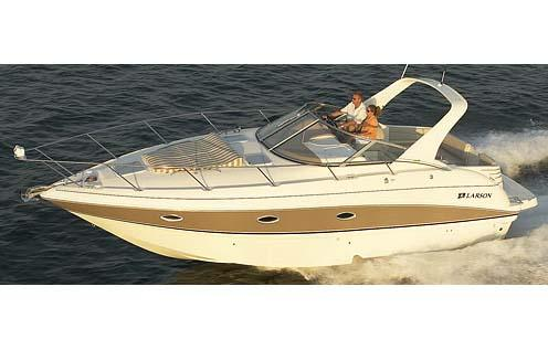 Larson Cabrio 330 Manufacturer Provided Image