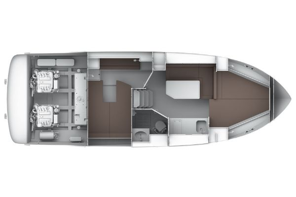 Bavaria Sport 32 Layout Lower Deck