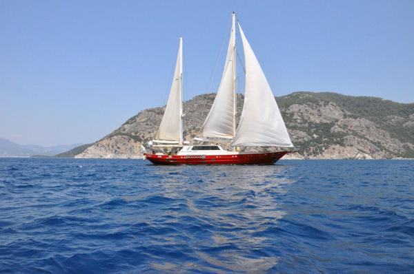 Sailing 95` Ketch
