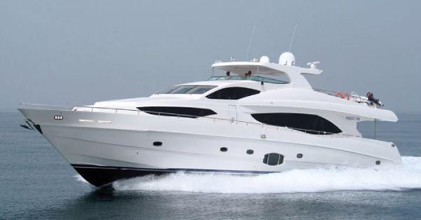 Majesty Yachts Majesty 101 Profile