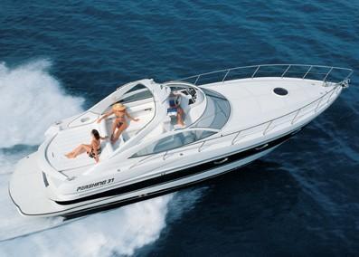 Pershing 37 Manufacturer Provided Image: Cruising