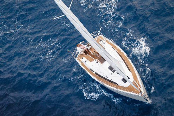 Bavaria 33 Cruiser View From Above