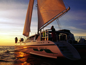 Woodwind Kurt Hughes Custom Catamaran Photo 1