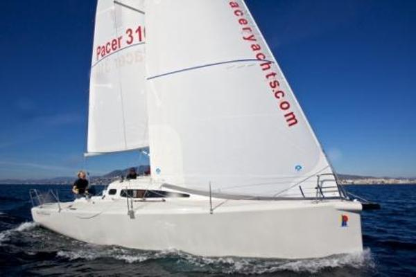 Pacer Yachts 310 Sprint Side View