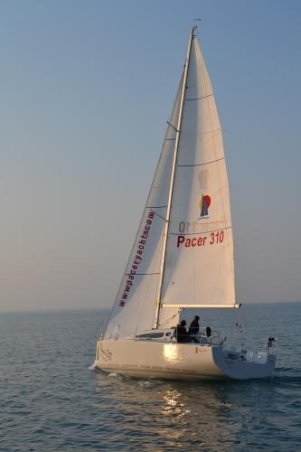 Pacer Yachts 310 Sprint Sailing