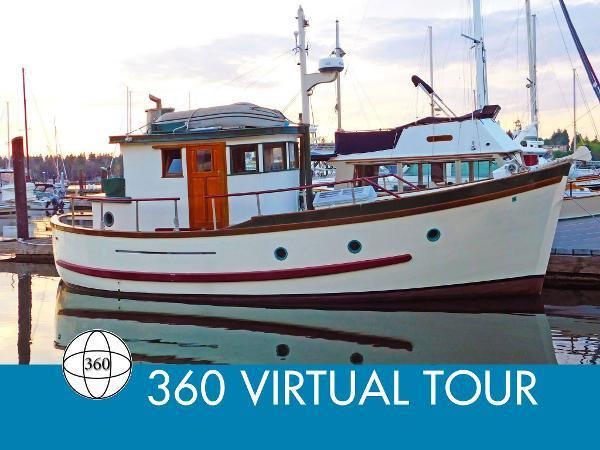 Custom BC 32 Tri-Cabin Trawler Main