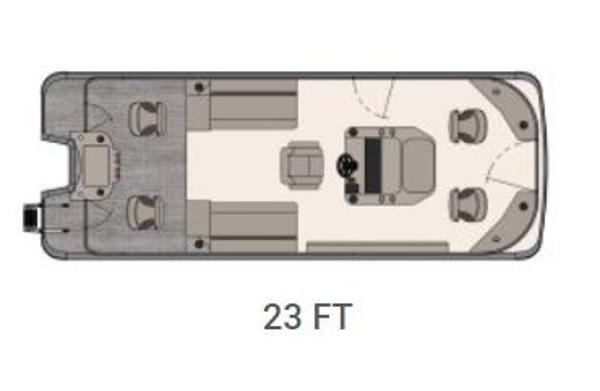 Avalon GS 23' Center Console Fish