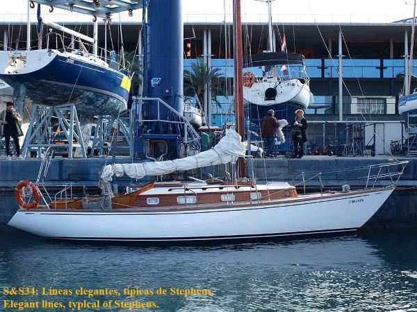 Classic S&S 34 class Classic sloop S&S 34