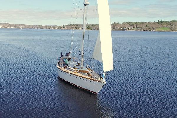 Lyman-Morse Seguin 44 Lyman Morse - Seguin 44 - Journeys End - Under Sail