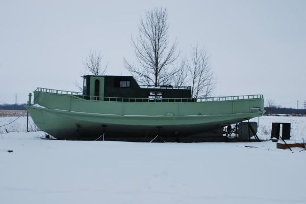 42' Steel Model Bow Tug