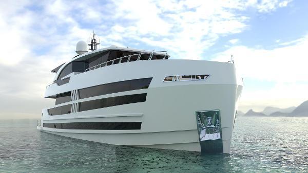 Lazzara Yachts UHV 100