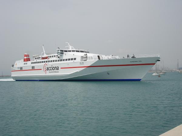 Fast Day Pax/Car Ferry Monohull